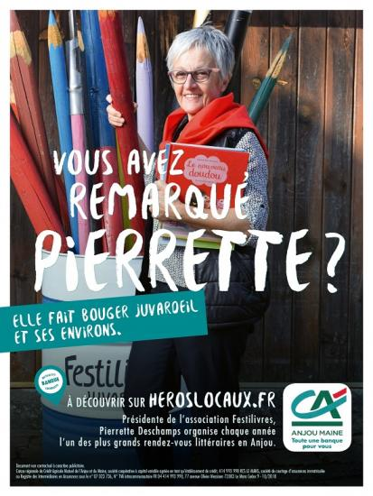 Pierrette affiche light